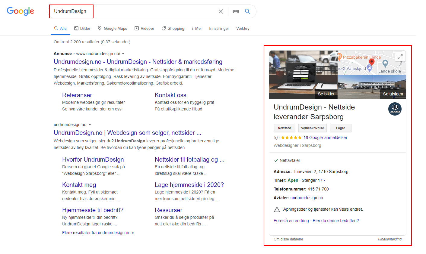 Google Ads reklame