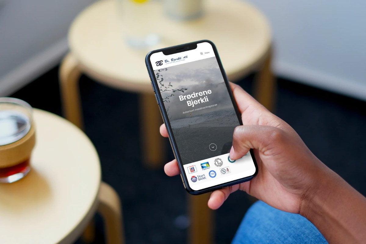 """Featured image for """"Responsivt design: Slik optimaliserer vi hjemmesider for mobil"""""""